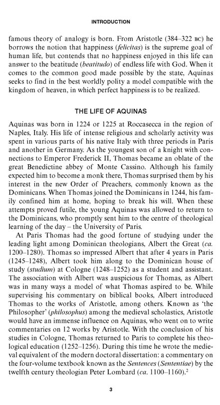 st. thomas aquinas essay The interrelation and integration of faith and reason was at the heart of medieval intellectual life in general and of the thought of st thomas aquinas in particular,[1] and indeed, it was st thomas's statement on the relationship between faith and reason that pope leo xiii made virtually the official position of the roman.