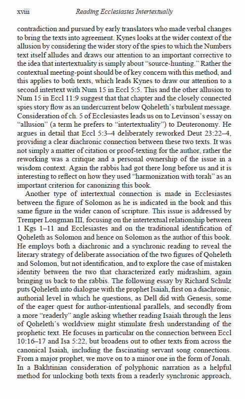 essays ecclesiastes 3